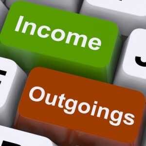 Quickbooks accounting software incomings & outgoings
